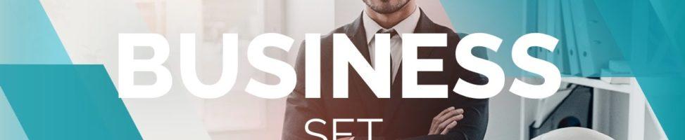 Business Set — Эффекты для Wondershare Filmora9
