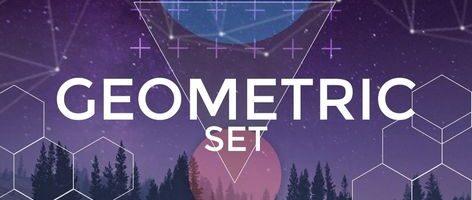 Geometric Set  — Эффекты для Wondershare Filmora9